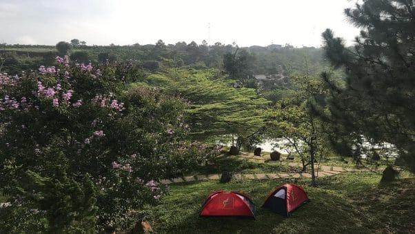 Tại Blao House bạn có nhiều không gian để thư giãn cùng thiên nhiên cũng như tham gia các hoạt động như: cắm trại,...