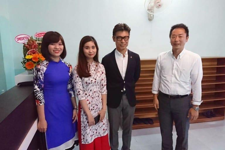 Các thầy giáo người Nhật sẽ tận tình truyền đạt cho học viên nhiều kiến thức bổ ích