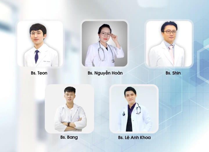 Đội ngũ Bác Sĩ Thẩm Mỹ Viện Hàn Quốc LINA