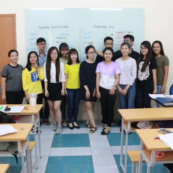 Một buổi học tại Phương Nam Education