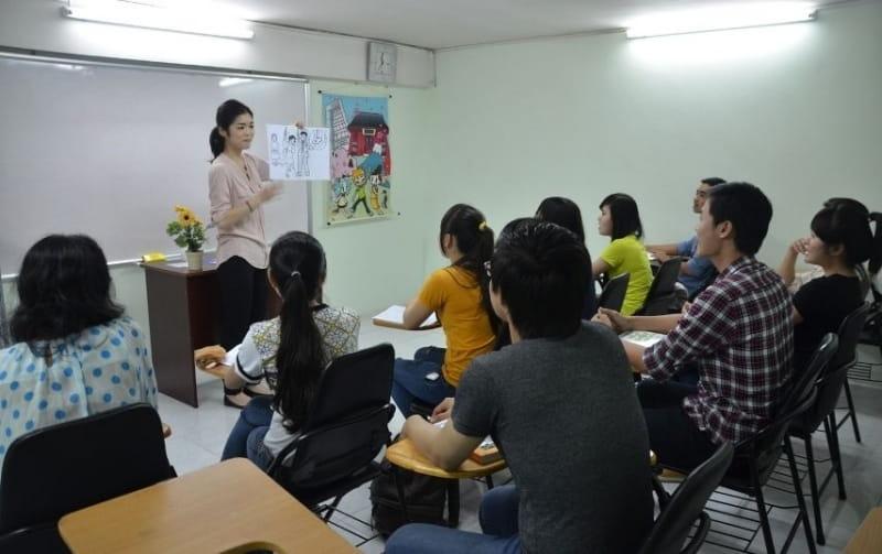 Phương pháp dạy học bằng hình ảnh tại Nhật ngữ IVY