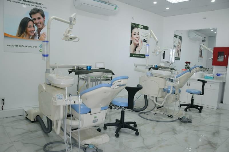 Trang thiết bị phòng khám