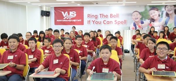 Anh văn Hội Việt Mỹ VUS có nhiều lớp từ mẫu giáo cho đến người đi làm