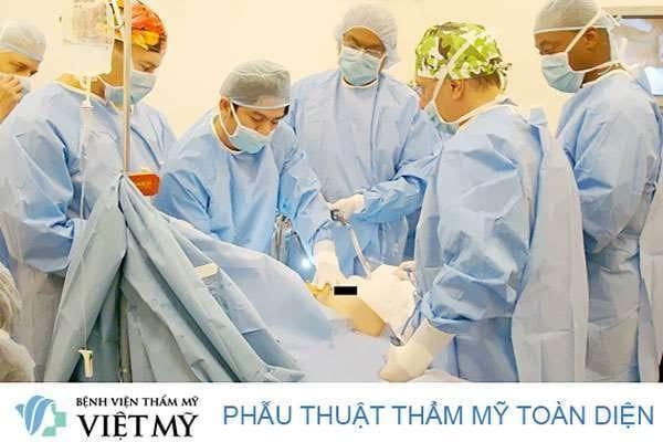 Bệnh viện phẩu thuật thẩm mỹ Việt Mỹ
