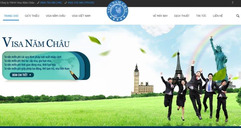Công ty TNHH Visa Năm Châu