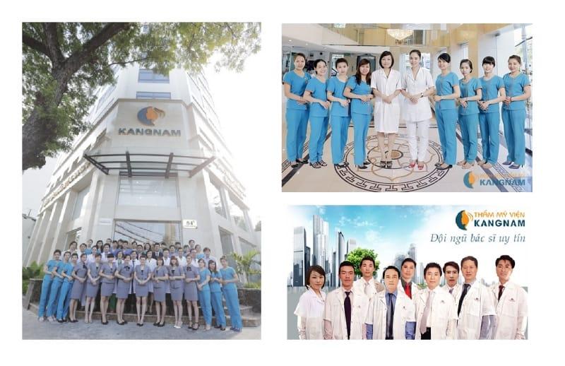 Đội ngũ nhân viên của Kangnam