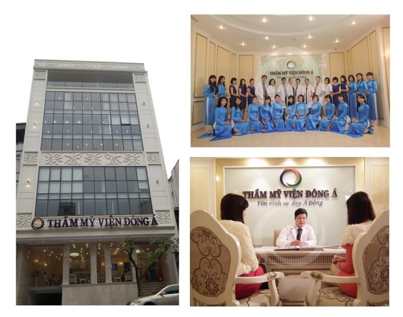 Một số hình ảnh về thẩm mỹ viện Đông Á