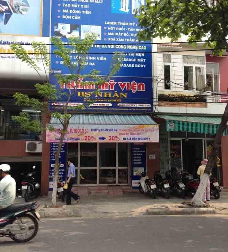 Thẩm mỹ viện Bác sĩ Nhân là địa chỉ làm đẹp uy tín tại Đà Nẵng