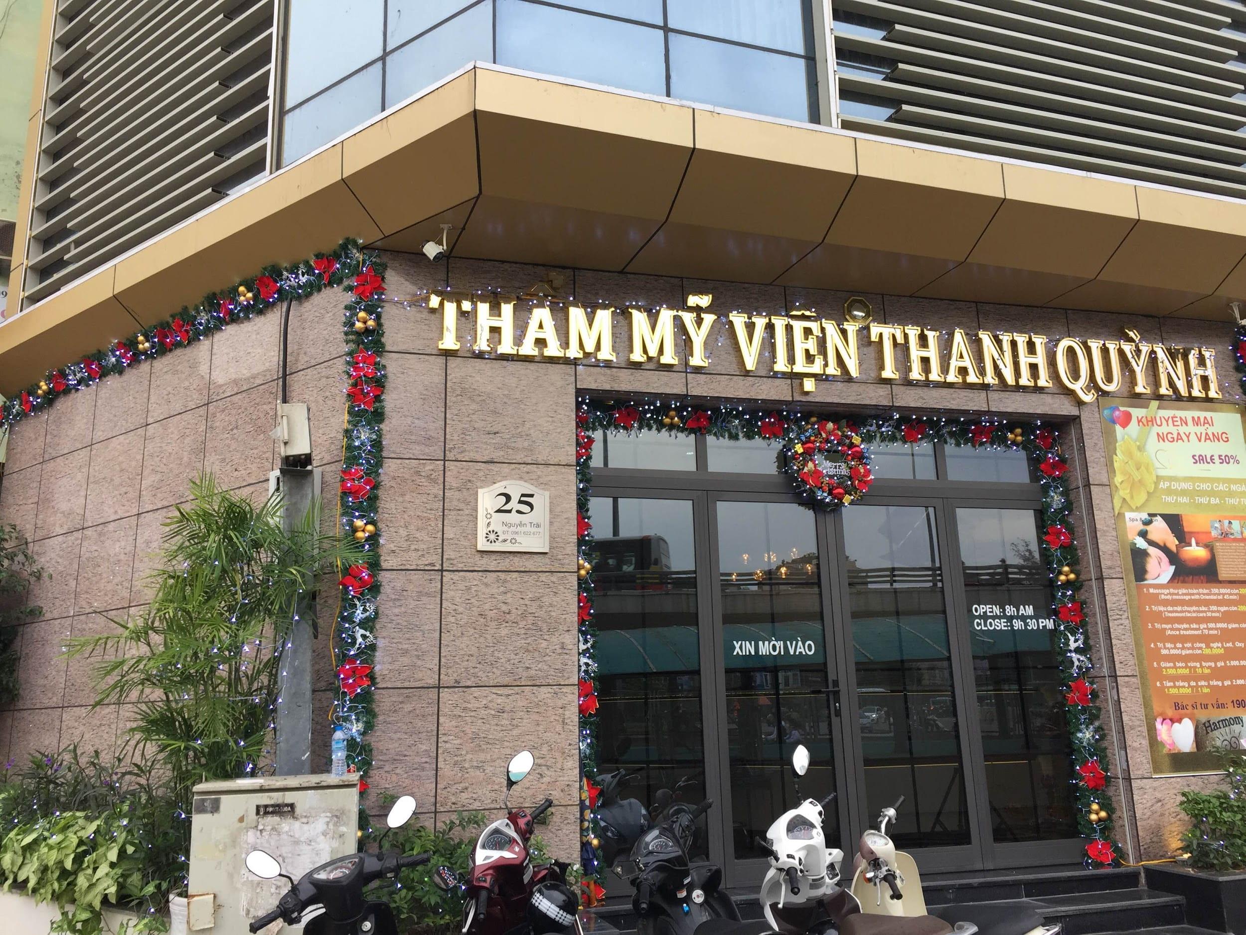 tham my vien o Hoang Mai