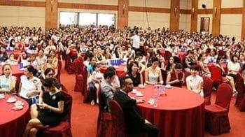 Toàn cảnh buổi lễ khai trương TMV Đông Á tại số 12 lô NP1, TT thương mại Becamex, đại lộ Bình Dương, TP Thủ Dầu Một, Bình Dương