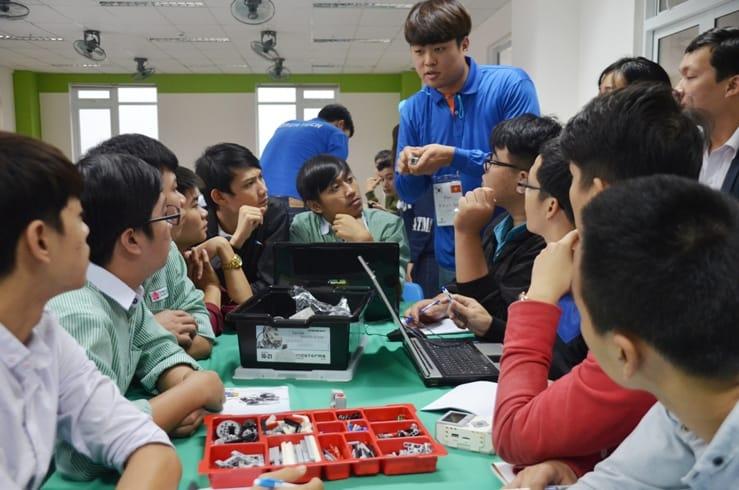 Trao đổi sinh viên Việt Hàn (ảnh minh họa)